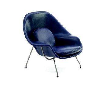 Knoll Eero Saarinen Leather Womb Chair