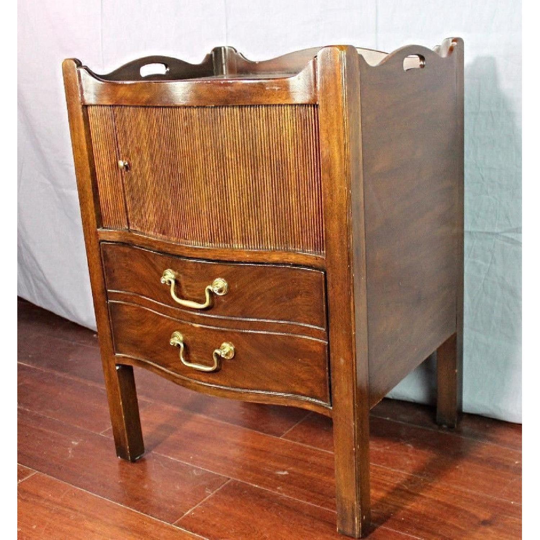 Henredon Natchez Mahogany Side Table/Nightstand - image-1