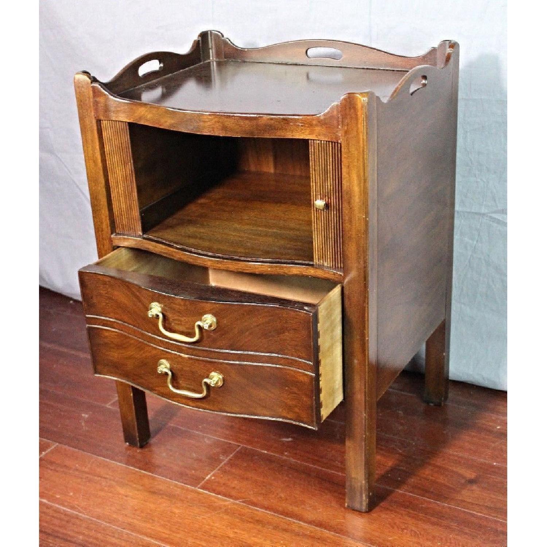 Henredon Natchez Mahogany Side Table/Nightstand - image-3