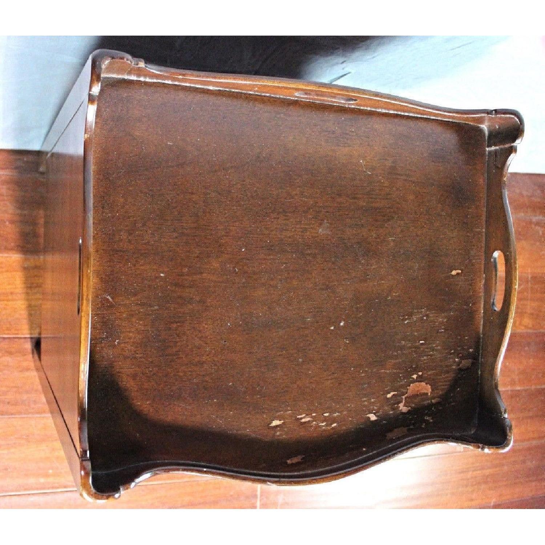 Henredon Natchez Mahogany Side Table/Nightstand - image-6