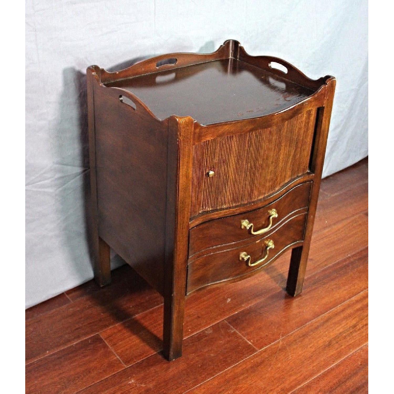 Henredon Natchez Mahogany Side Table/Nightstand - image-9