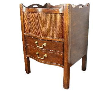 Henredon Natchez Mahogany Side Table/Nightstand