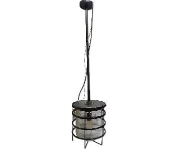 Ralph Lauren Bronze Tarnish Metal Ceiling Lamp