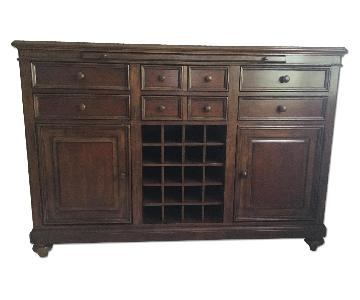 Universal Furniture Wood Sideboard/Hutch
