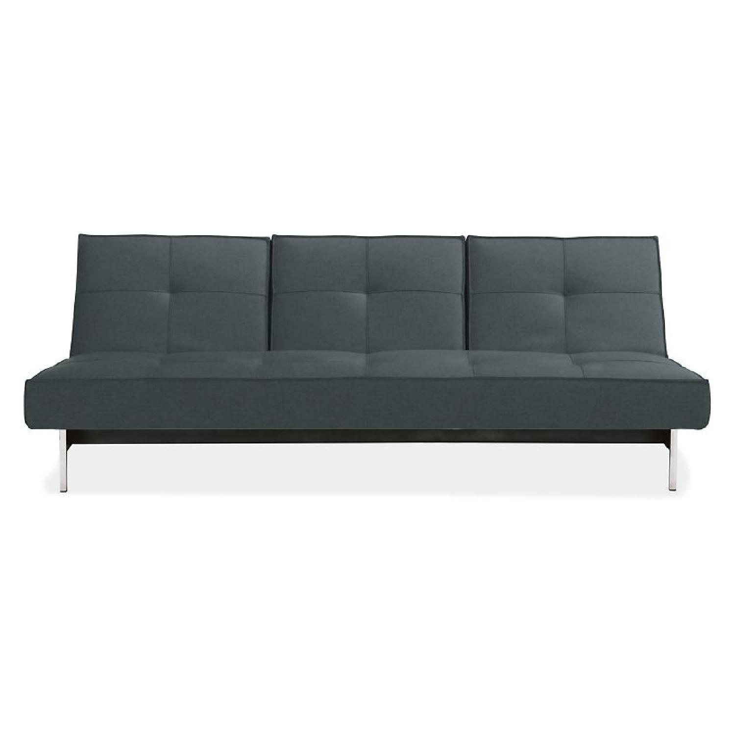 Innovation USA Danish Design Gray Futon w Red AptDeco