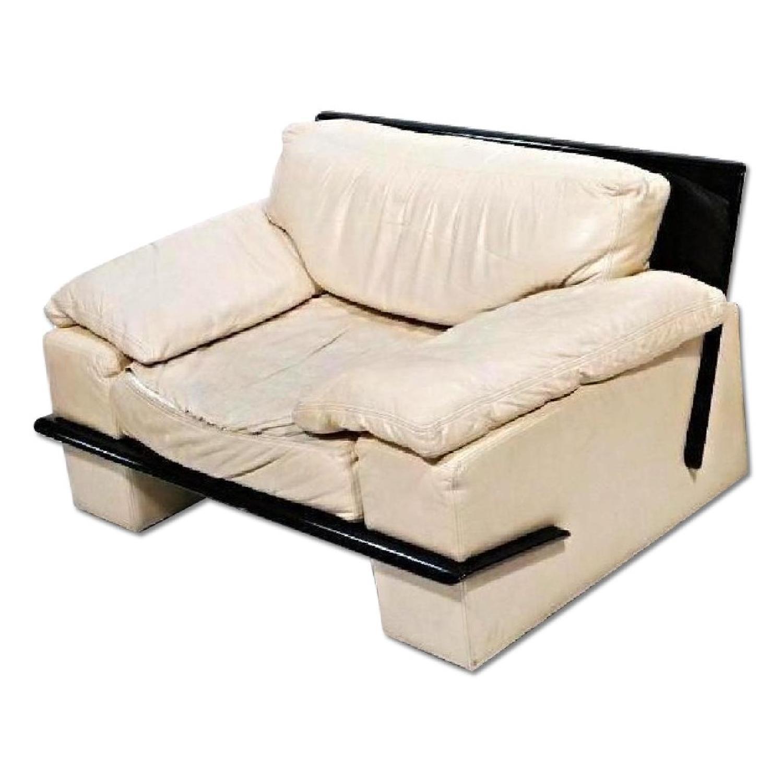 Leather Modern Lounge Club Chair/Armchair