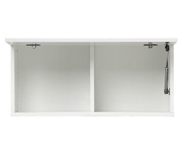 Cb2 Hyde White Wall Mounted Cabinet