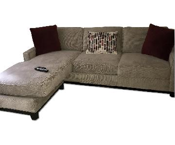 Raymour & Flanigan Kerridon 2 Piece Sectional Sofa