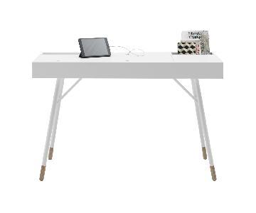 BoConcept Cupertino Desk w/ Oak Legs