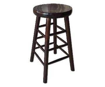 West Elm Hardwood Stool