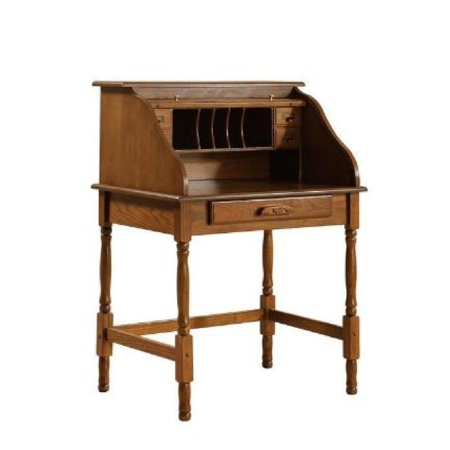 Warm Honey Classic Writing Desk