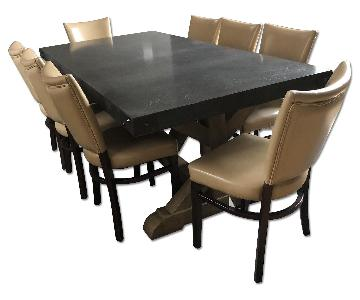 Restoration Hardware Dining Table w/ 10 Chairs