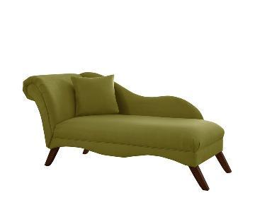 Skyline Furniture Green Chaise Lounge