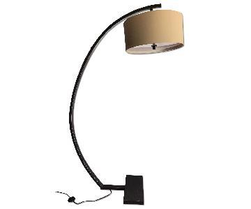 Lamps Plus Bronze Finish Arc Floor Lamp