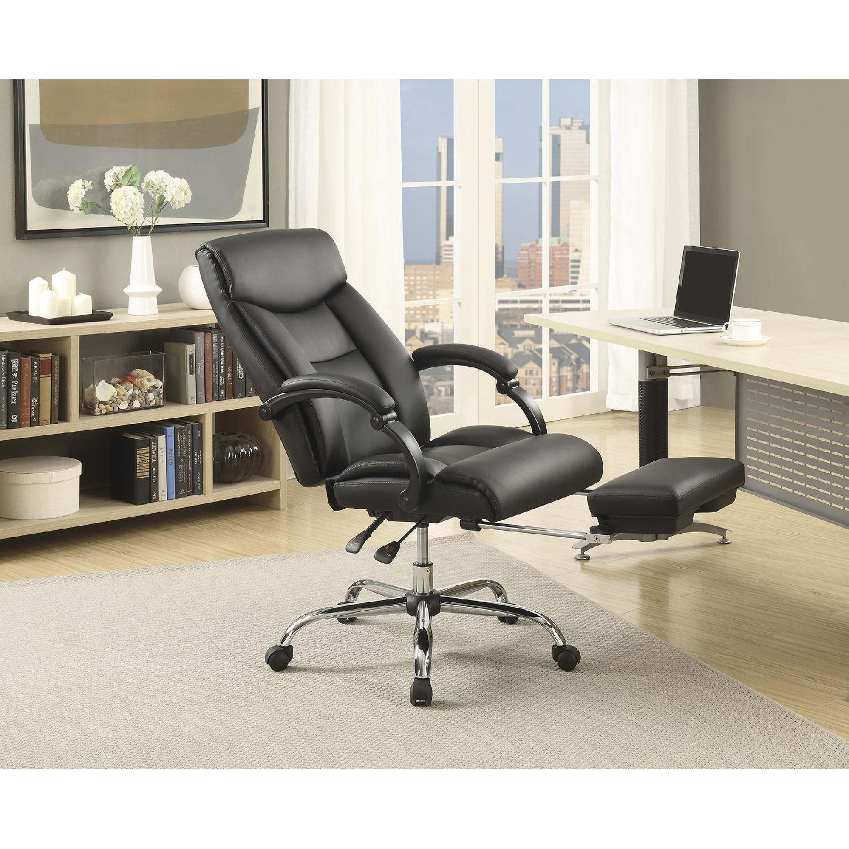 Modern Reclining Office w/ Retractable Leg-Rest - image-1