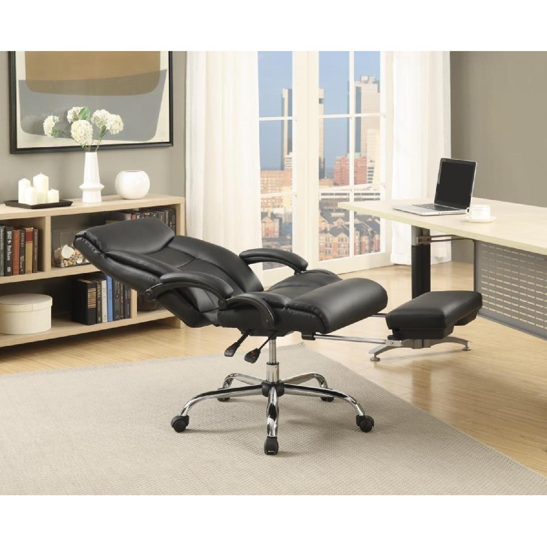 Modern Reclining Office w/ Retractable Leg-Rest - image-2