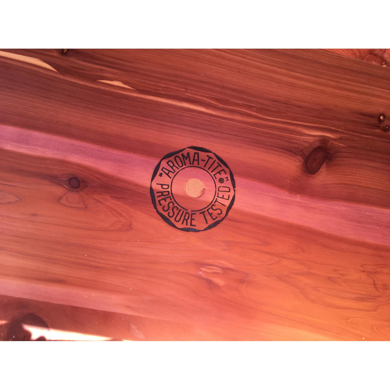 Vintage Mid Century Cedar Chest - image-6