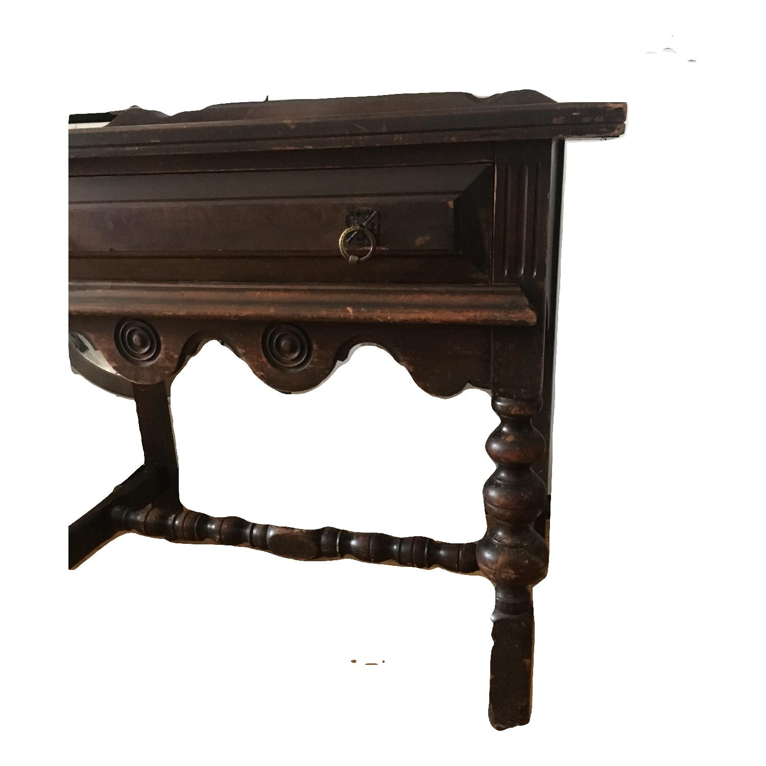 Antique Dining Server Baroque Sideboard-8
