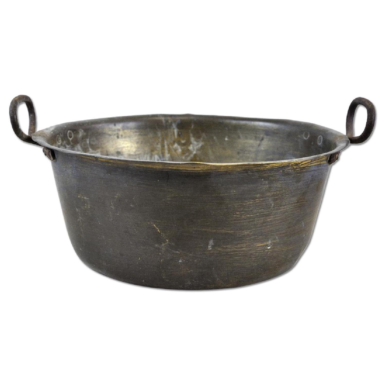 Antique Decorative Bowl w/ 2 Side Handles