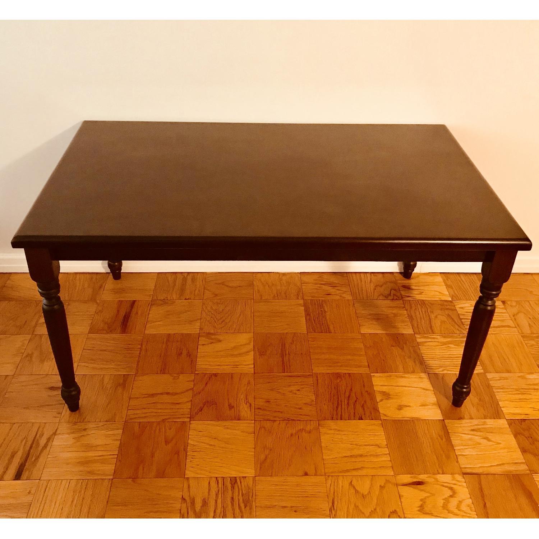 Gothic Cabinet Craft Wood Dining Table AptDeco