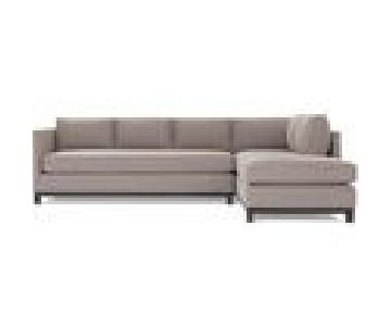 Mitchell Gold + Bob Williams Clifton Sectional in Light Grey