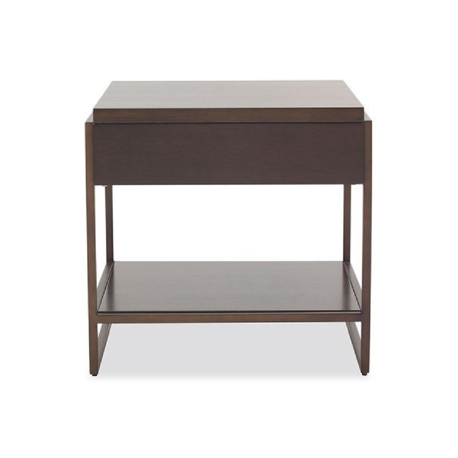 Mitchell Gold+ Bob Williams Bassey 1 Drawer Side Table-0