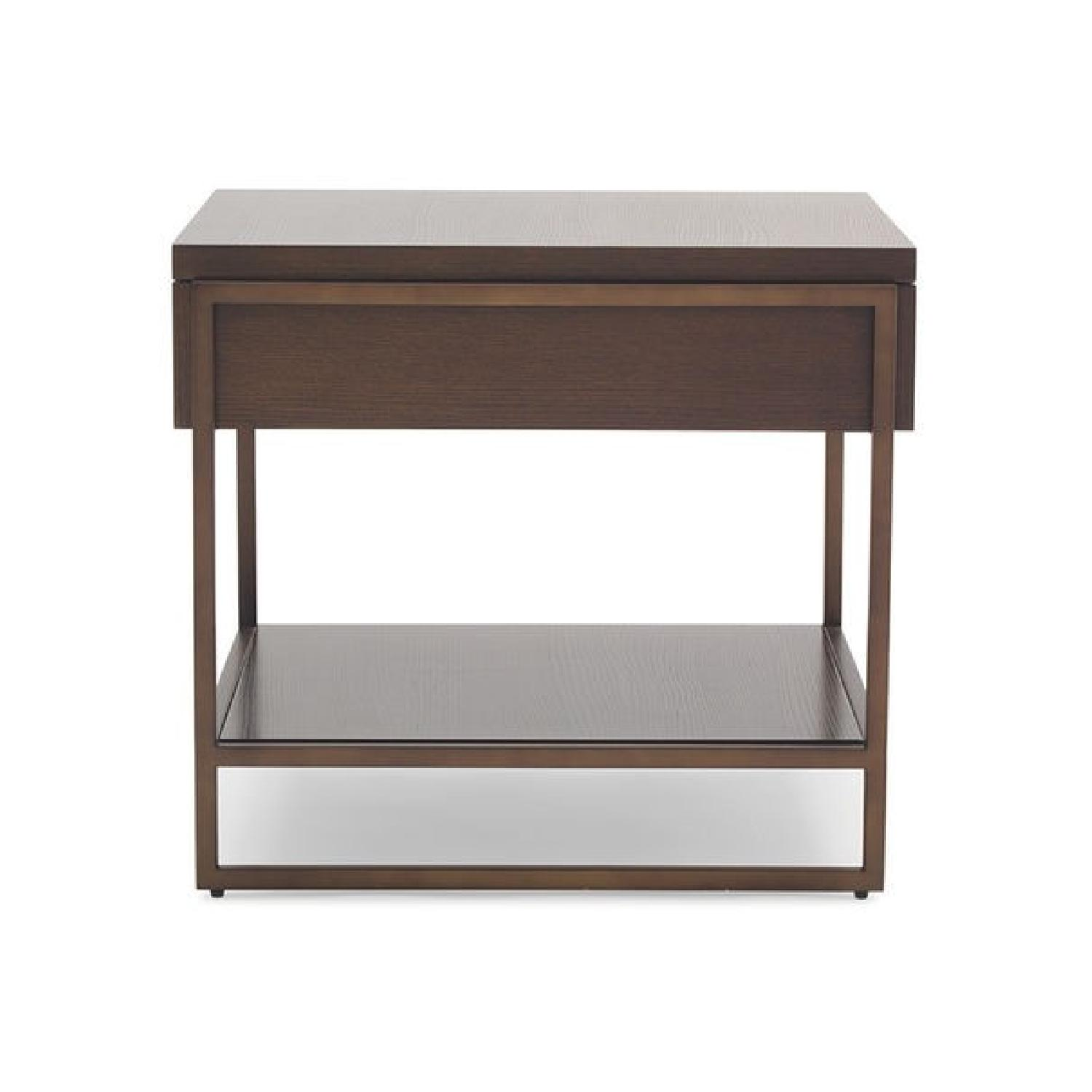Mitchell Gold+ Bob Williams Bassey 1 Drawer Side Table-1