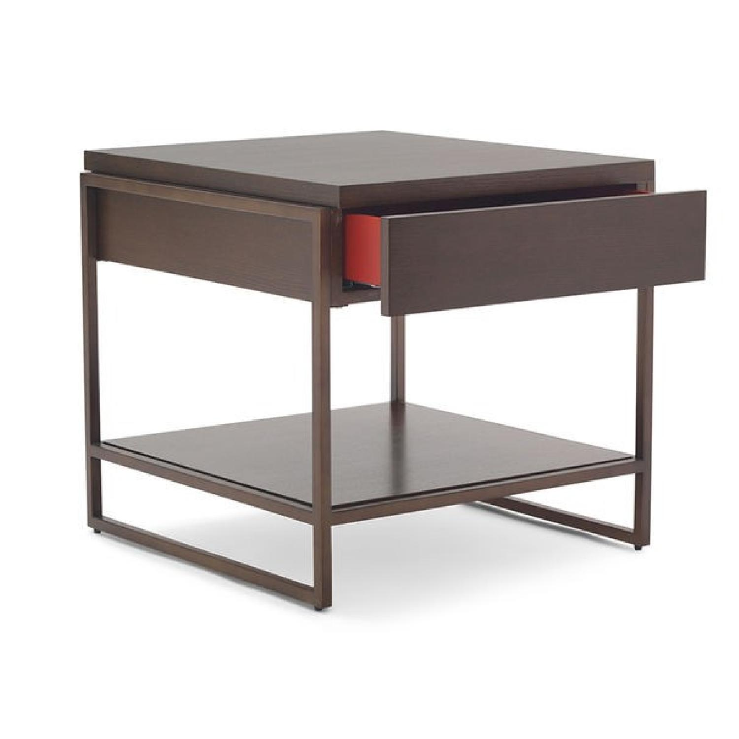 Mitchell Gold+ Bob Williams Bassey 1 Drawer Side Table-2