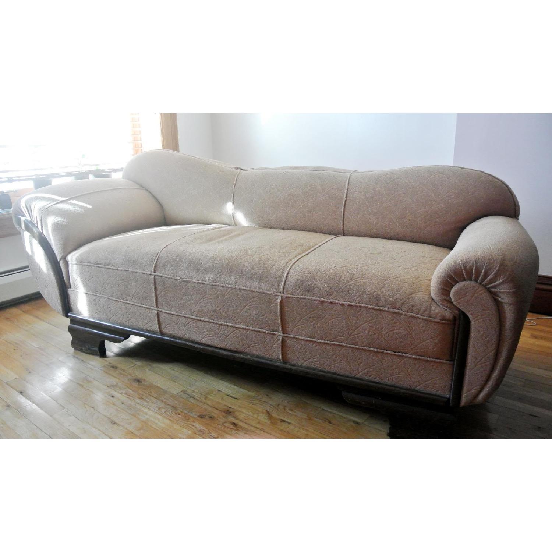 Vintage Mid Century Modern Sofa Chaise Aptdeco ~ Mid Century Chaise Sofa