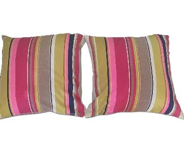 CB2 Jane Striped Pillow