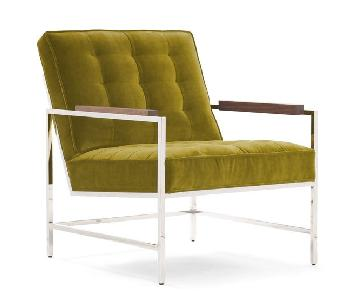 Mitchell Gold + Bob Williams Major Arm Chair in Green