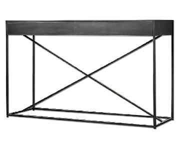 Restoration Hardware Gramercy Mirrored Console