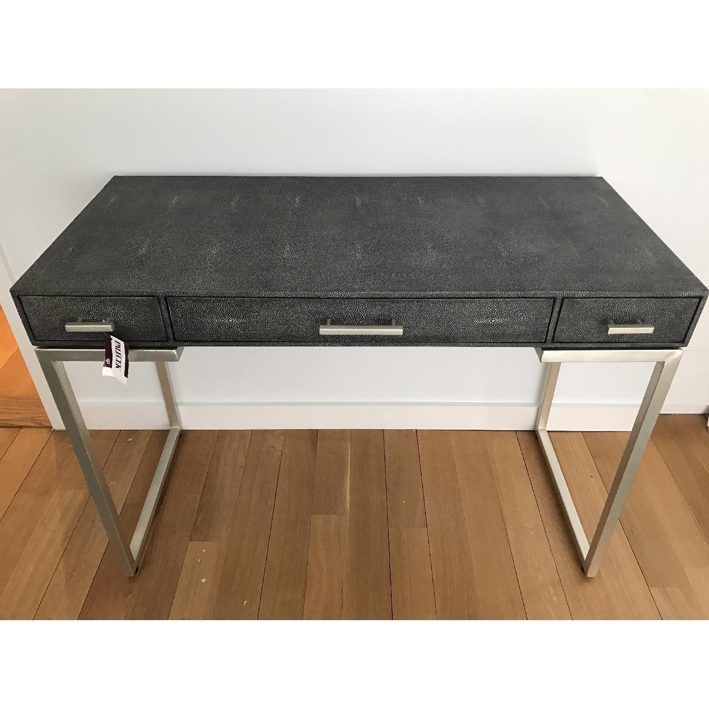 Palecek Faux Shagreen Desk AptDeco