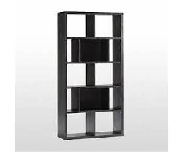 West Elm Rectangular Cutout Bookcase