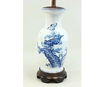 Chinese Porcelain Blue White Vase Table Lamp