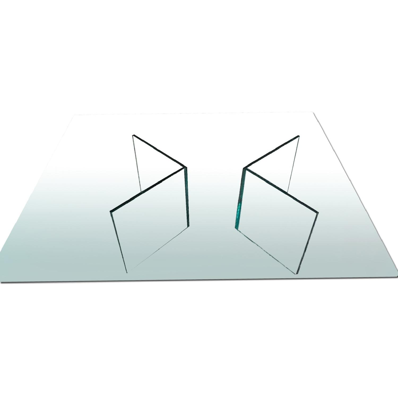 Modern Glass Coffee Table AptDeco