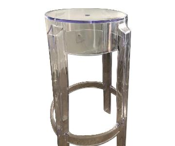 Clear Acrylic Counter Stool