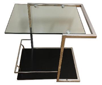 BoConcept Glass Side Table