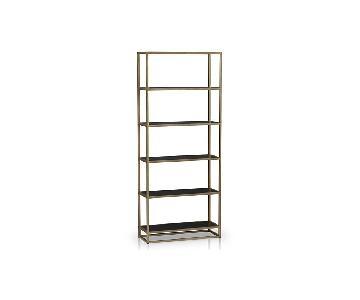 Crate & Barrel Remi Large Bookcase