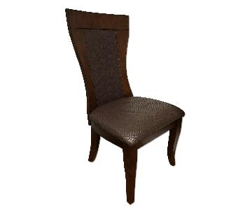 Heavy Luxury Wooden Chairs from Boutique