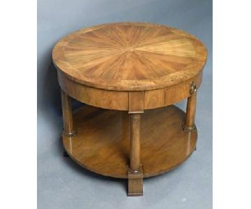 Baker Round Accent/End Table