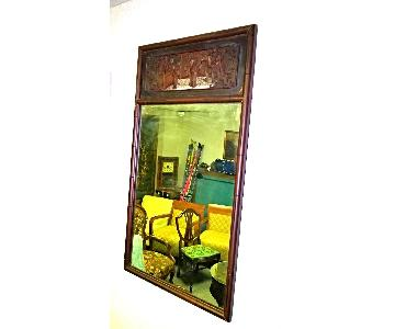 Chinoserie Chinese Chippendale Hollywood Regency Mirror