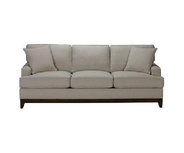 Ethan Allen Arcata Sofa in Grey