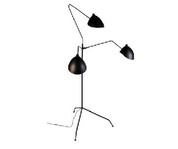Organic Modernism Praying Mantis Floor Lamp