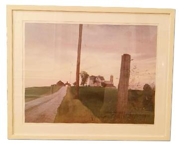 Nelson Hand Numbered & Signed Print
