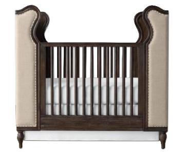 Restoration Hardware French Upholstered Wing Crib