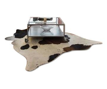 Leather Cow Hide Area Rug