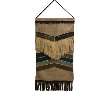 West Elm Woven Wall Hanging