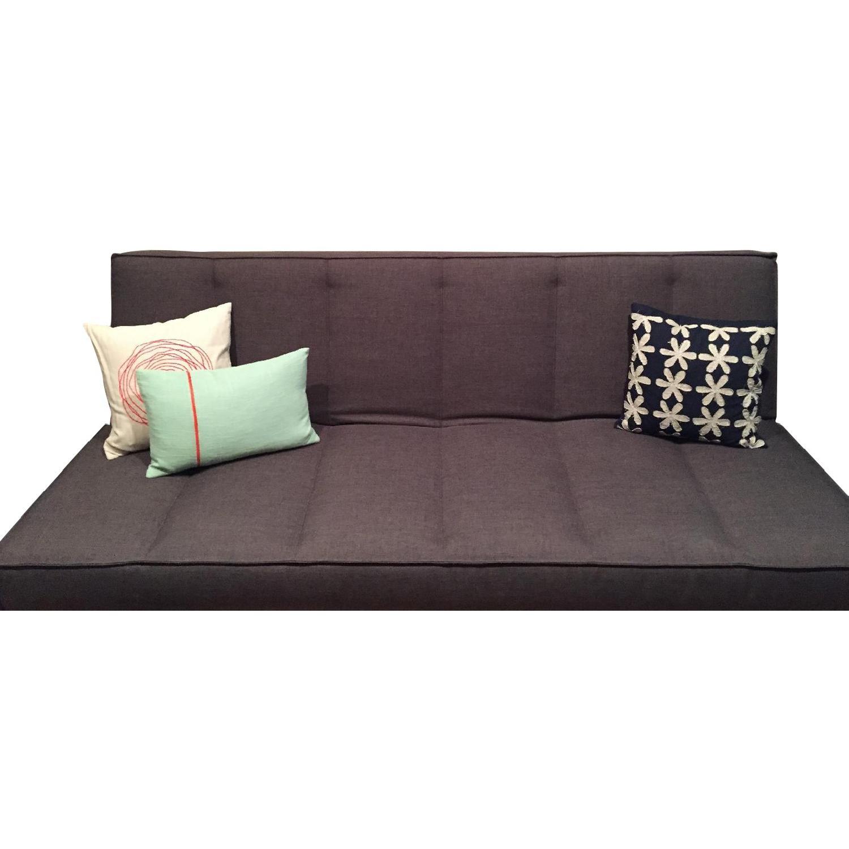 CB2 Flex Gravel Sleeper Sofa