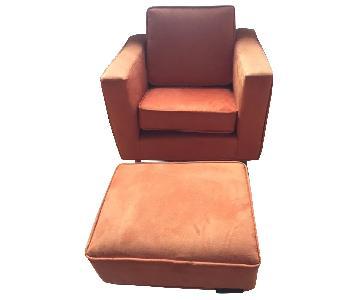 Jennifer Delonge Furniture Ava Toddler Chair & Ottoman